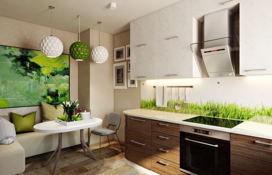 дизайн эко кухни