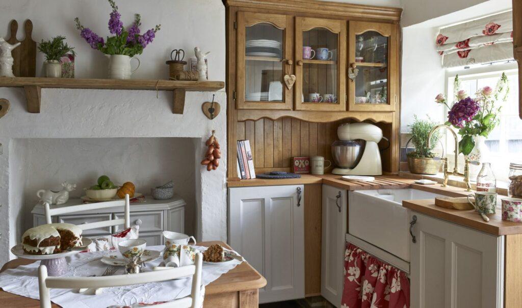 винтаж кухня новые стили современности