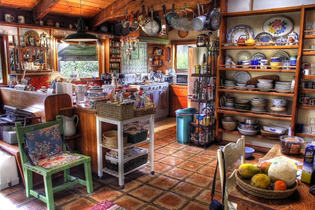 кухня в стиле бохо шик