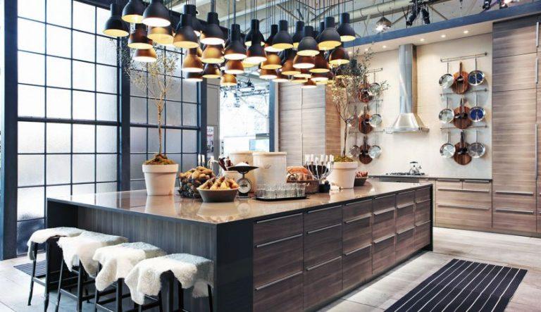 интересный варинт кухни в стиле фьюжен