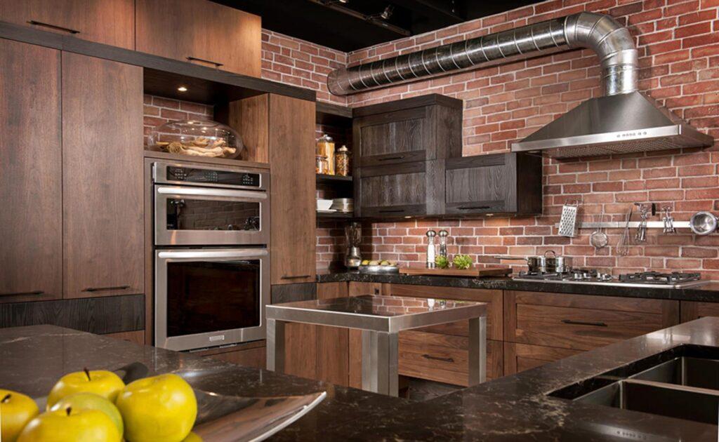 еще реальное фото кухня лофт