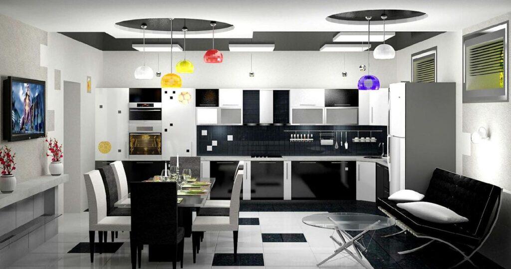 кухня авангардная фото