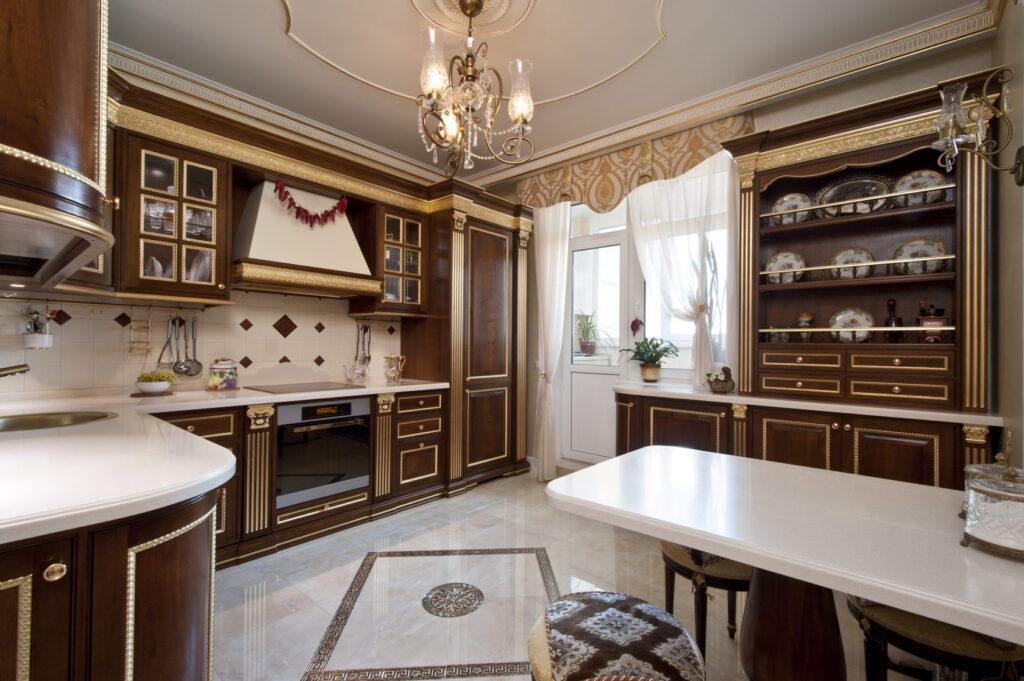 классические стили кухни с реальными фото