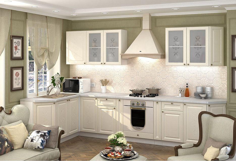 стиль кухонного гарнитура версаль