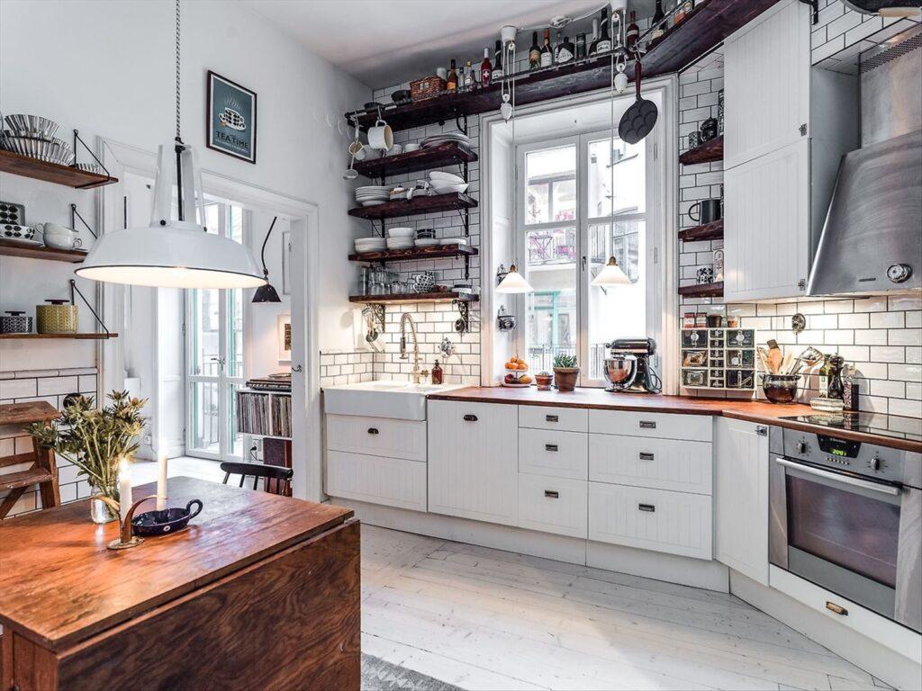 Кухня для скандинавского стиля
