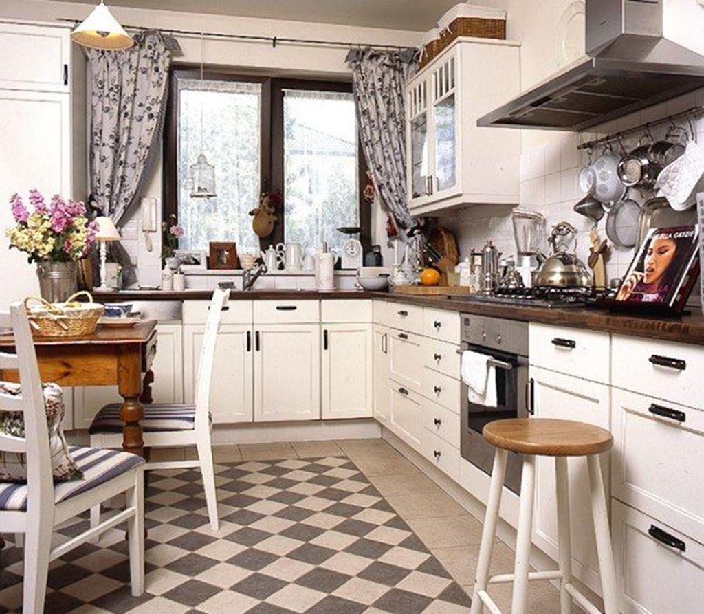 кухня из ретро стиле под старину